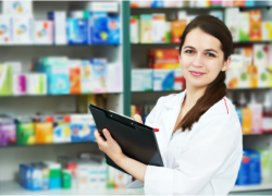 pharmacist in the pharmacy